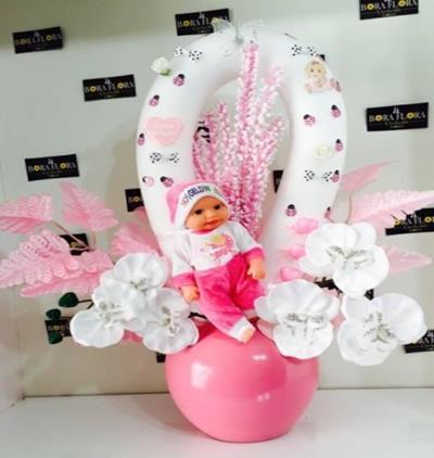 Bora Flora Yeni Doğan Kız Bebek Hediyesi