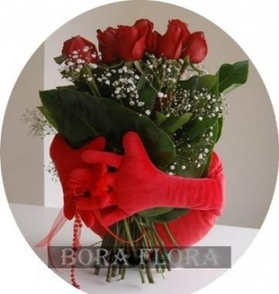 Bora Flora Kalbim Ellerinde