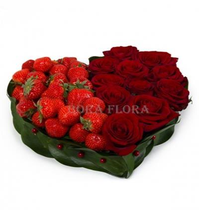 Marmaris Çiçek Kalbimin Çileği
